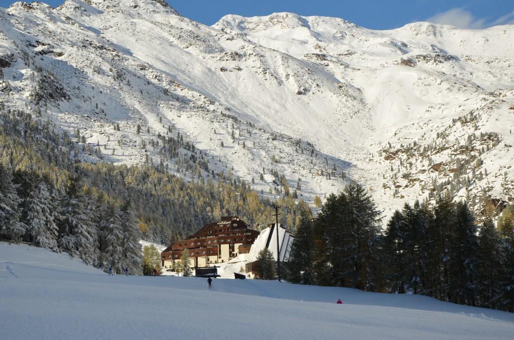Hotel Zirm i Scnalstal - Val Senales Foto: SkiProAm