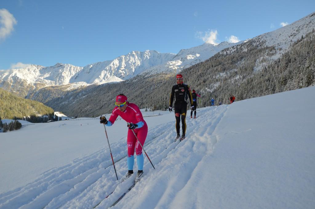 TEAM SkiProAm - Lina Korsgren i Val Senales (Foto:SkiProAm)