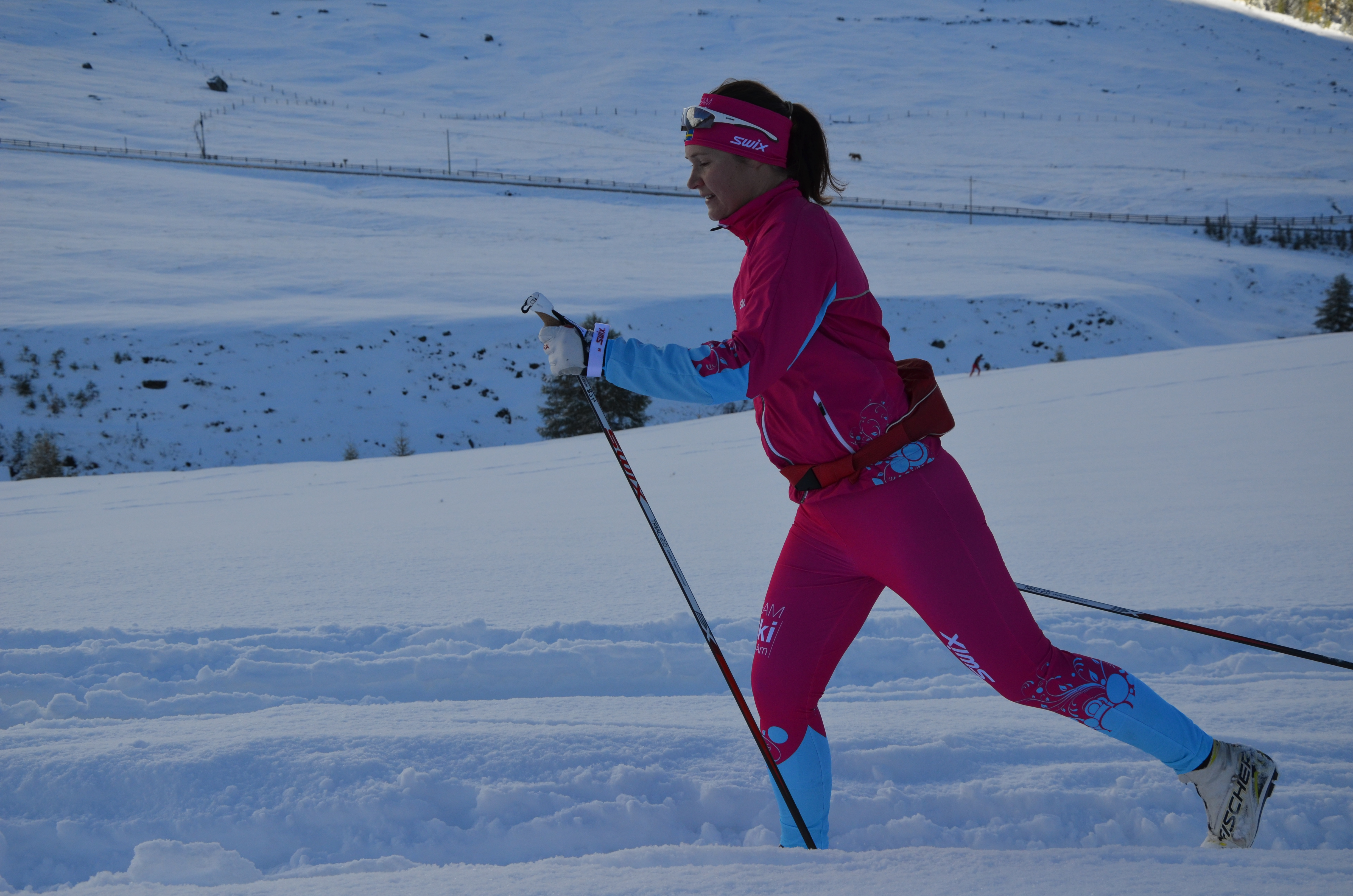 TEAM SkiProAm - Britta Johansson Norgren - Val Senales okt 2013 (Foto:SkiProAm)