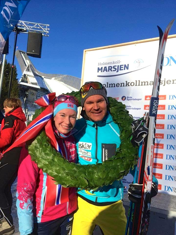 Solfrid Braathen, og Øystein Pettersen