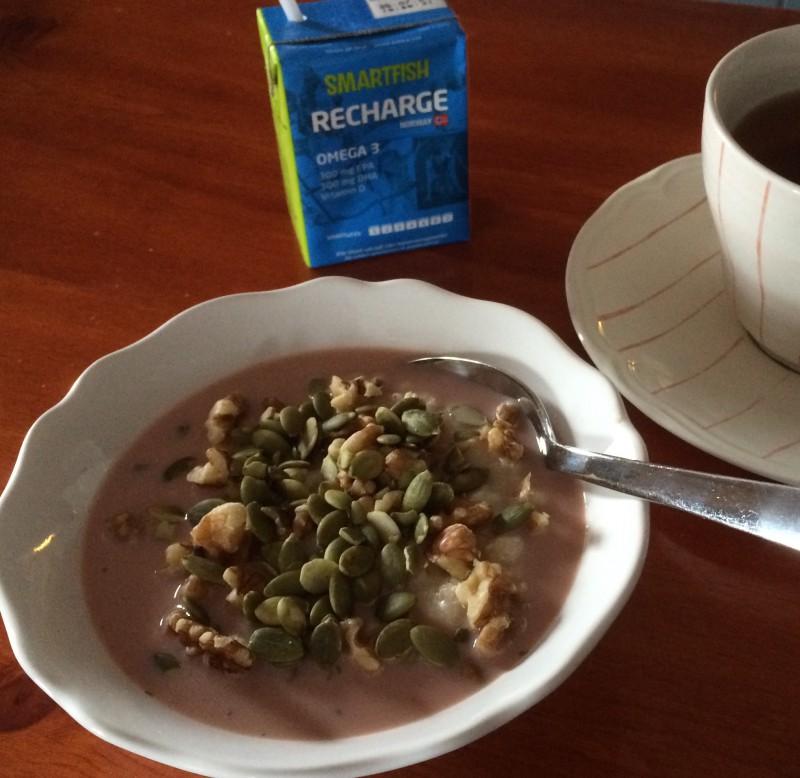 Smartfish är god på frukostgröten! (Foto: SkiProAm)