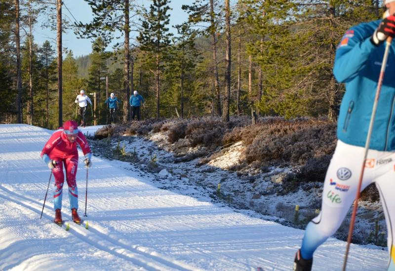 Solfrid Braathen - träningsläger Idre Fjäll - Foto:SkiProAm