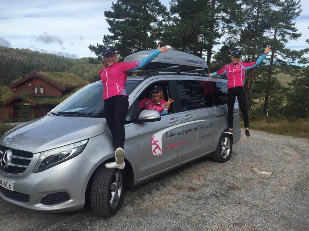 Team SkiProAm - träningsläger Drangedal sept 2016